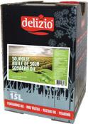 Delizio huile de soja 15L